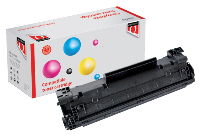Quantore tonercartridge HP CB435A zwart 1.5k