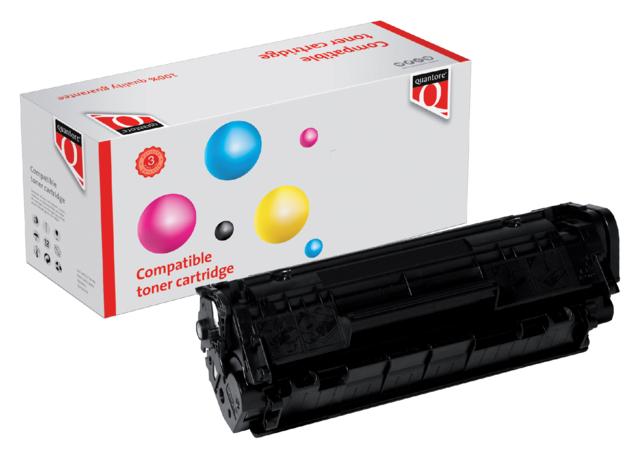 Quantore tonercartridge HP Q2612A zwart 2k