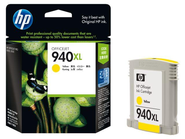 Inktcartridge HP C4909ae No 940xl Geel