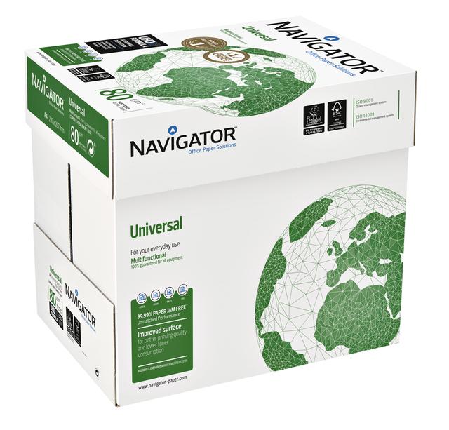 Navigator papier A4 80 gr wit