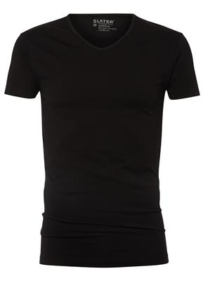 Slater T-Shirt V-neck Stretch 2 Pack