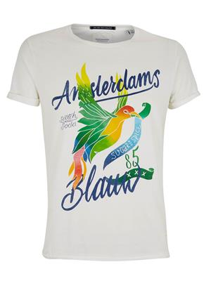 Amsterdams Blauw T-Shirt 134288