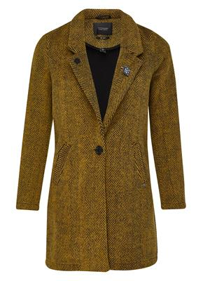 Maison Scotch Coat Wool Bonded