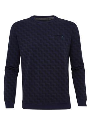 No Excess Sweater Print