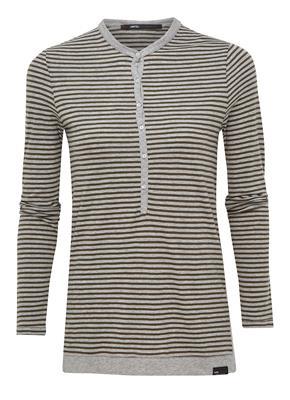 Penn & Ink T-Shirt LS Stripe W17T013LT