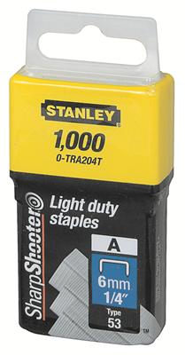 Stanley 1-TRA204T nieten 6mm Type A - 1000 stuks