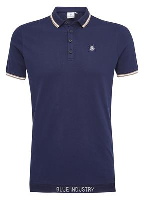 Blue Industry Polo KBIS18-M21