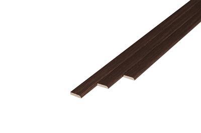 176 Plakplint Red River Hickory (5 x 24 mm. Lengte: 240 cm)
