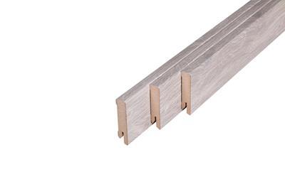 153 MDF Muurplint Colorado Oak (15 x 60 mm. Lengte: 240 cm)