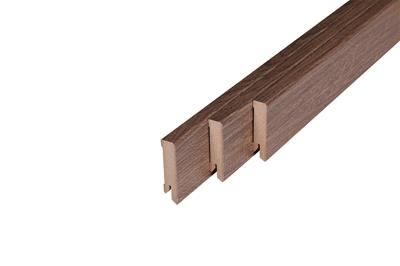 159 MDF Muurplint Warehouse Oak (15 x 60 mm. Lengte: 240 cm)