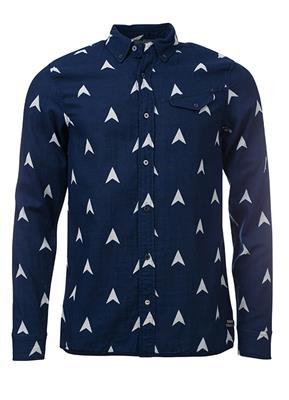 Amsterdams Blauw overhemd weaves