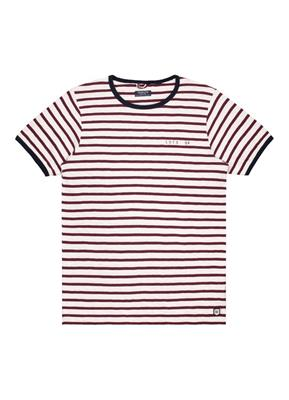 Dstrezzed T-Shirt Slub Stripe