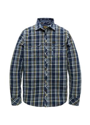 PME Legend Shirt LS Indigo.