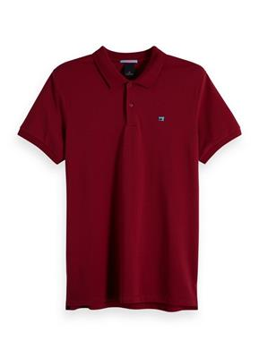 Scotch & Soda Polo Bordeaux 149073