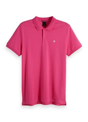 Scotch & Soda Polo Roze 149073