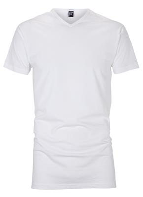 Alan Red T-shirt long Vermont 2-pack