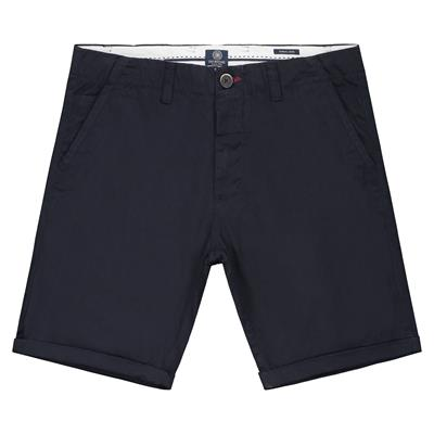 Dstrezzed Chino Short Stretch Donkerblauw