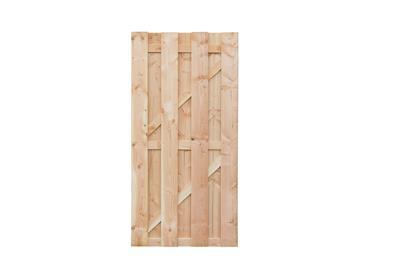 Ermelo deur lariks/douglas geschaafd en onbehandeld (100 x 180 cm)