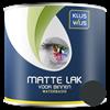 KlusWijs Matte lak waterbasis Zwart 250ml