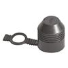 1046323 - TREKHAAKDOP MET RING ZWART