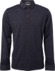 No Excess Polo LS Jacquard