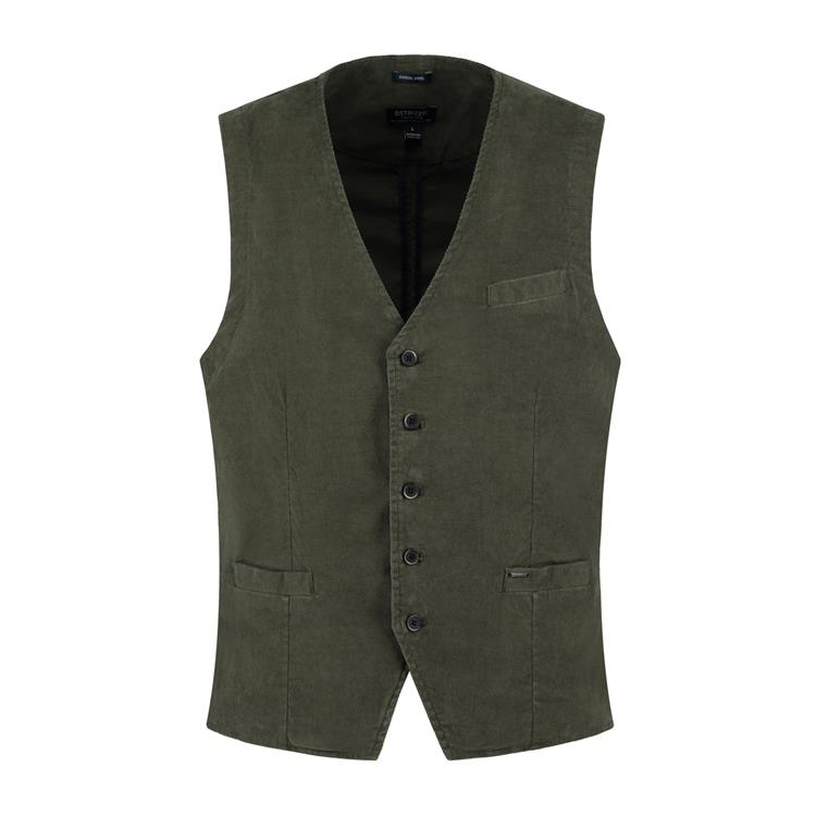 Dstrezzed Gilet Washed Ribcord