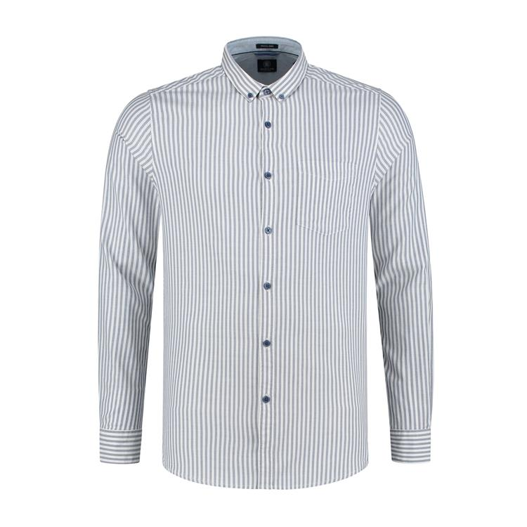 Dstrezzed Overhemd Twin Stripe Oxford