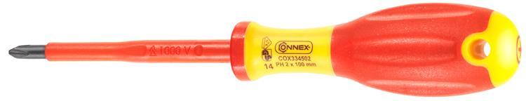 Connex Schroevendraaier Ph2 100Mm 1Kv/1C
