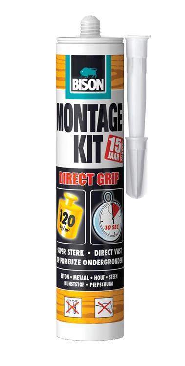 Bison montagekit direct (grip 370 gram)