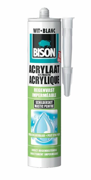 Bison acrylaatkit (regenvast 310 ml)