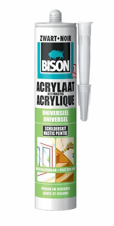 Bison acrylaatkit grijs (310 ml)