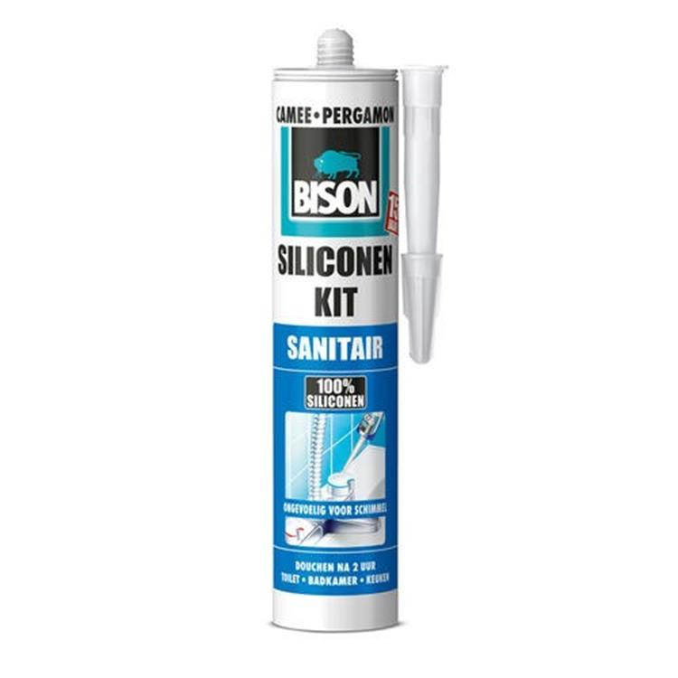 Bison siliconenkit san. (camee 310 ml)