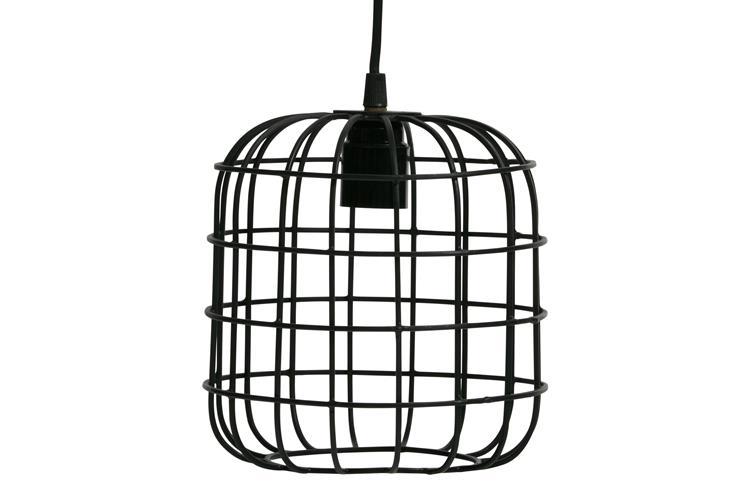 Lotus Hanglamp Metaal Zwart