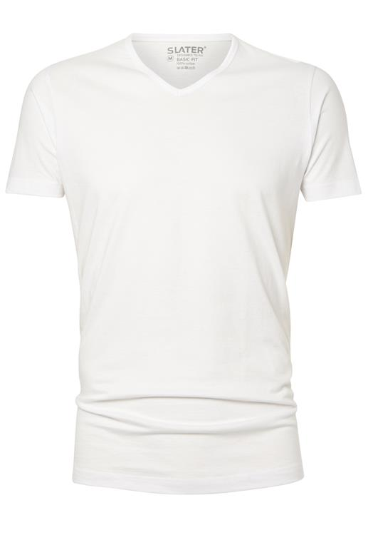 Slater T-Shirt V-neck Basic Fit 2-Pack