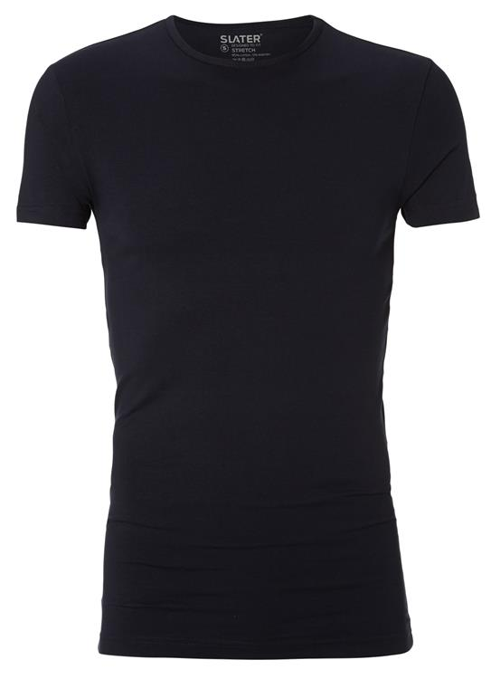 Slater T-Shirt R-neck Stretch 2-Pack