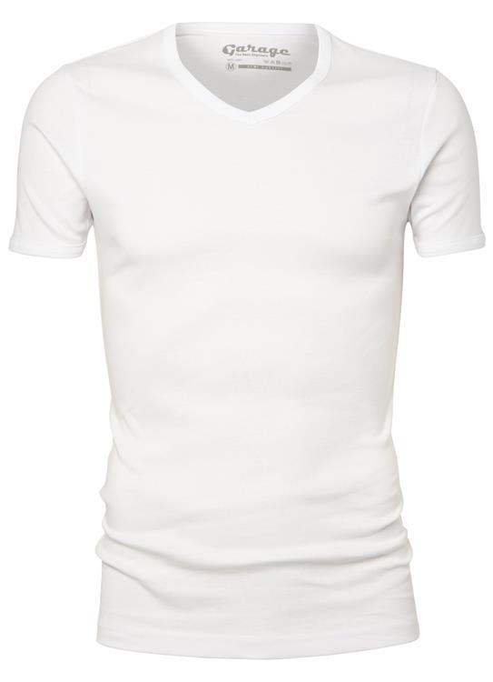 Garage T-Shirt V-neck semibody fit