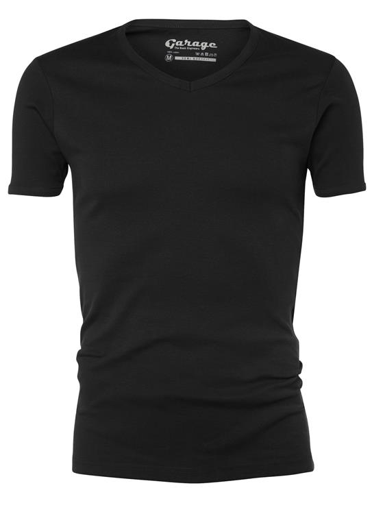 Garage T-Shirt V-neck semibody fit
