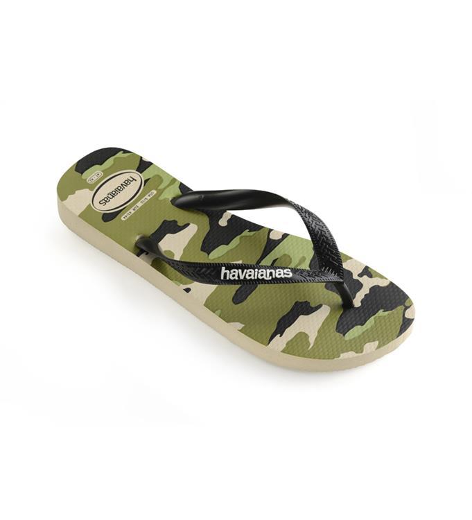 Havaianas Top Camu Beige/Black Slippers