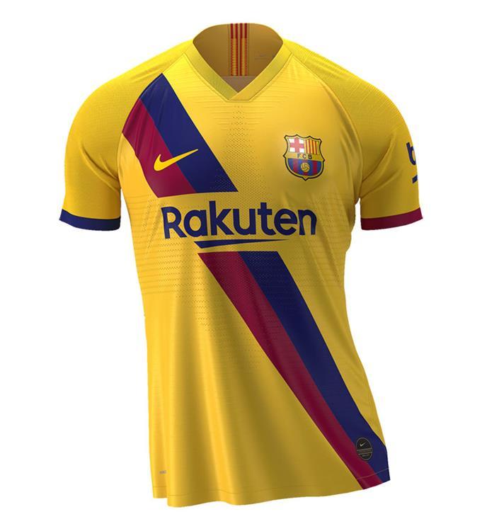 Nike FC Barcelona Uitshirt 2019/2020 Y
