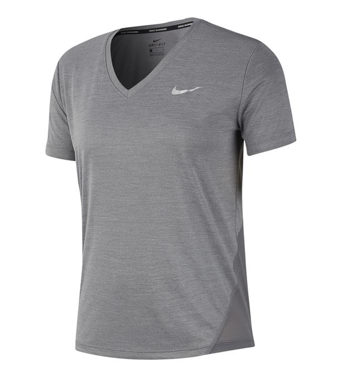 Nike W NK MILER TOP VNECK
