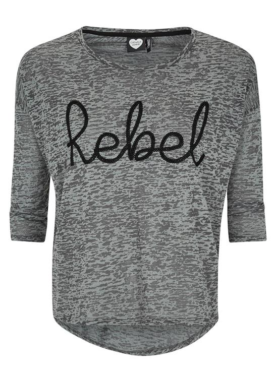 Catwalk Junkie Shirt Grey Rebel