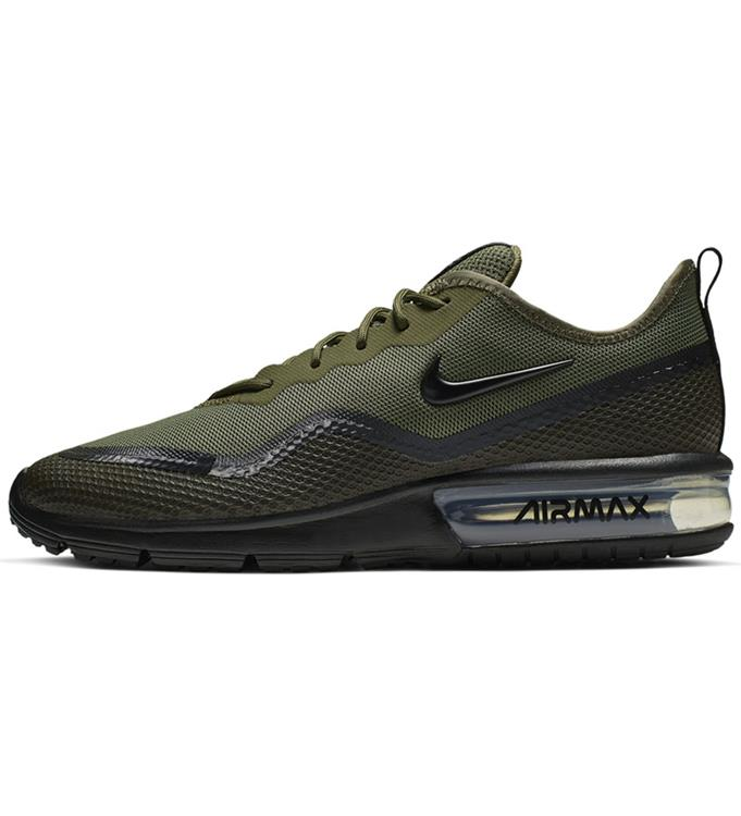 Nike Air Max Sequent 2 Olive Running Shoes