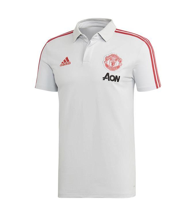 adidas Manchester United Katoenen Poloshirt M