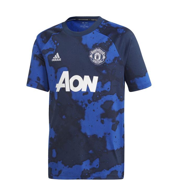 adidas Manchester United FC Thuis Prematch Shirt 2019/2020 Y