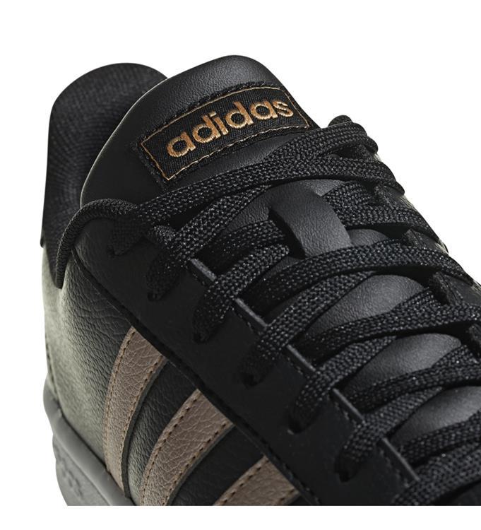 adidas grand court sneakers zwart dames