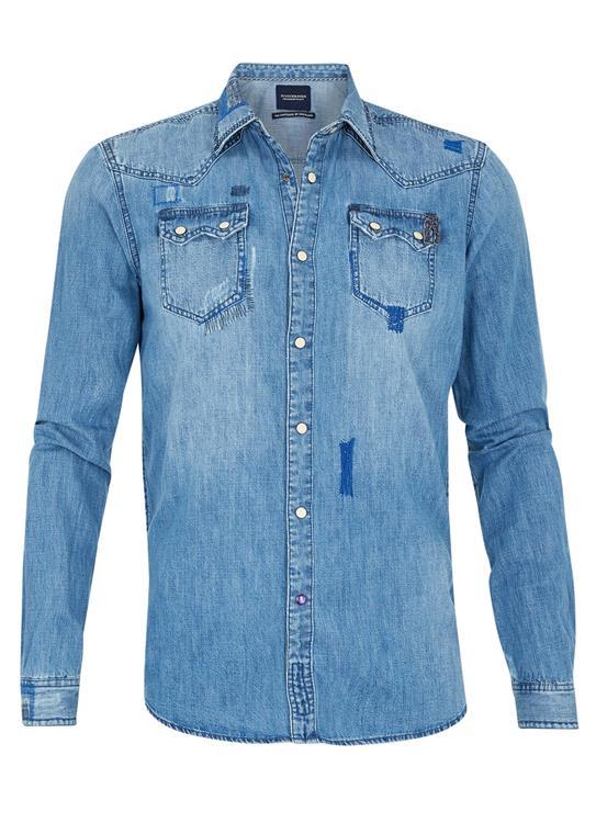Amsterdams Blauw Shirt 134366