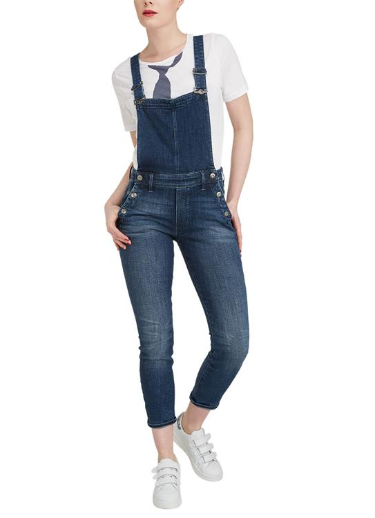 G-Star Jumpsuit Lynn High Slim Navy Overa