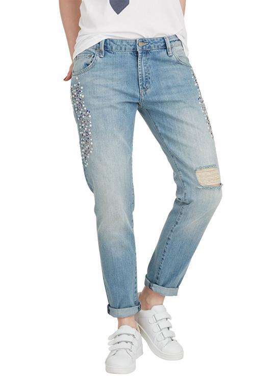 Nikkie Jeans Baila Pearls Boyfriend