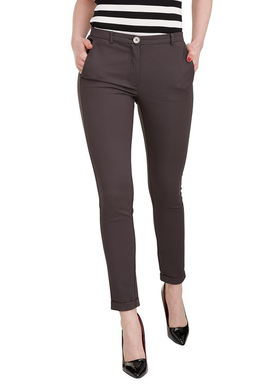 Gustav Stretch Broek Charcoal