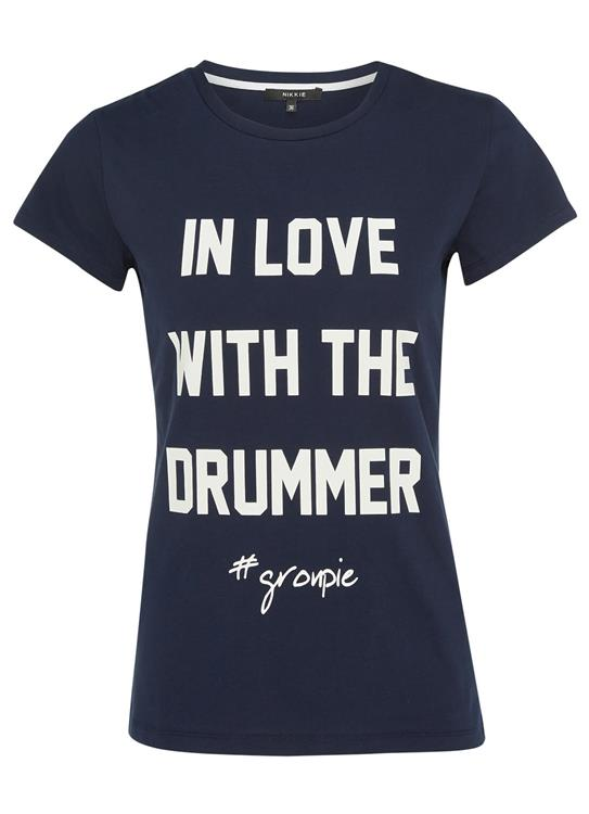 Nikkie T-Shirt In Love With The Drummer N 6-846 1702